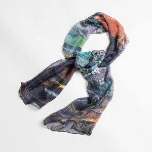 Silk Scarf by Mike Martin