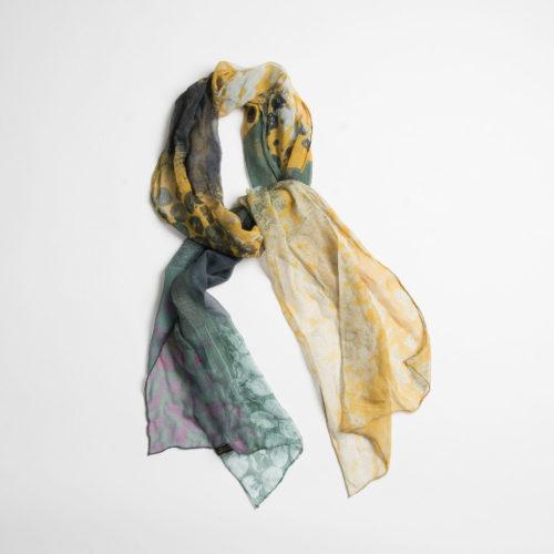 Untitled by Cindy Shanks - Silk Scarf