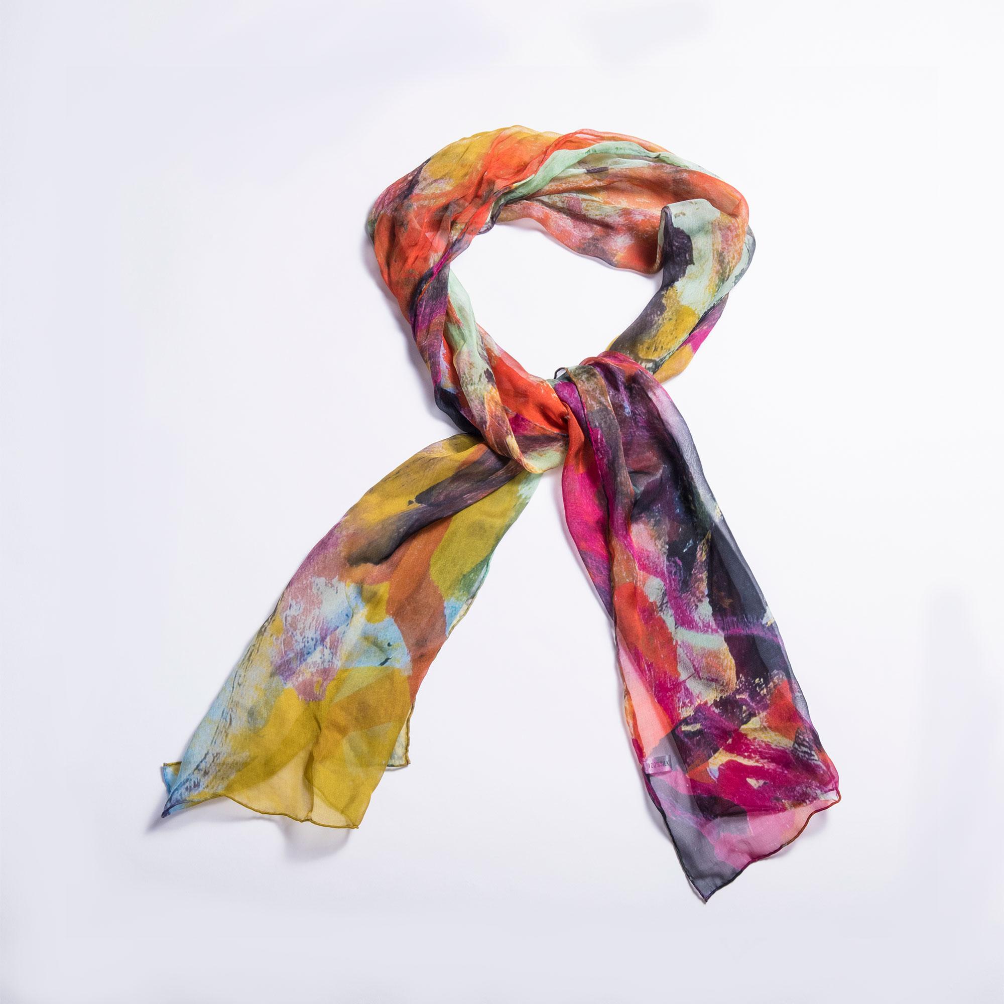 Silk Scarf based on Untitled