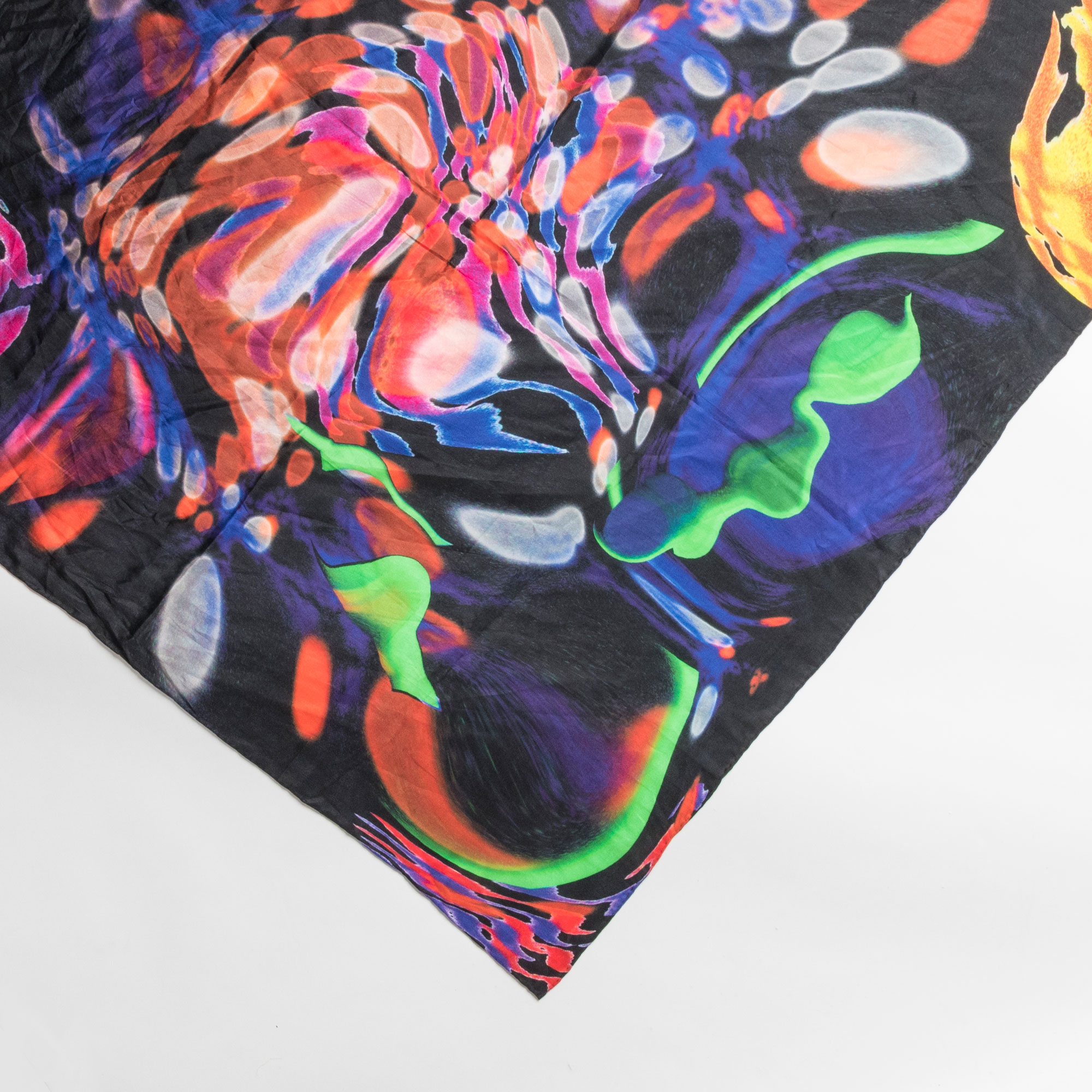 Silk Scarf based on the Ink Fish by Cheryl Chapin