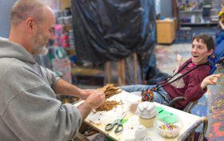 Joe and Dani Creating Art Without Limits