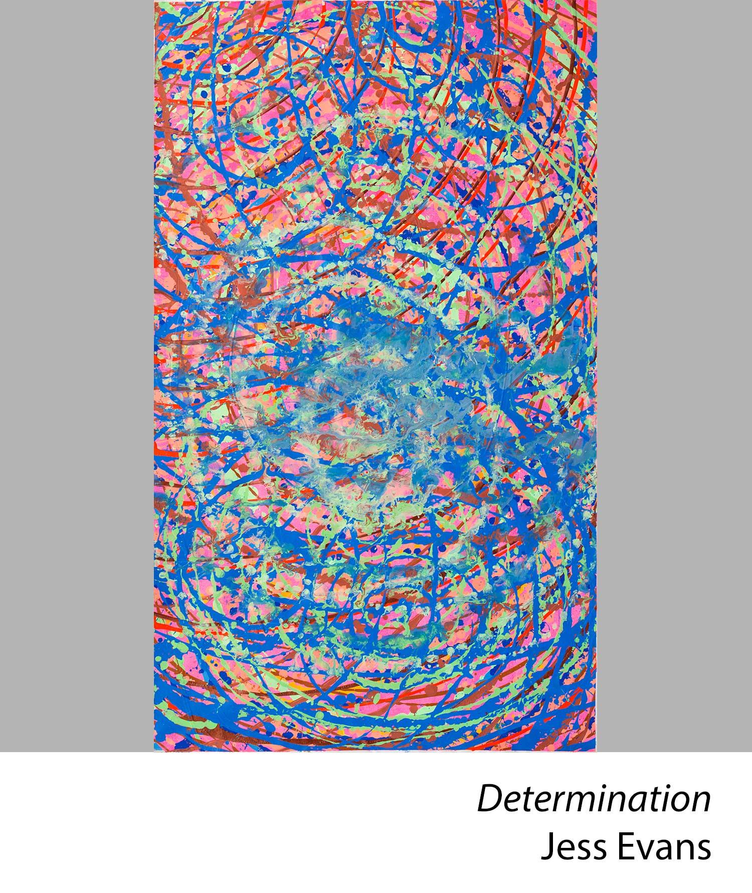 Determination by Jess Evans